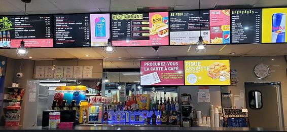 Salon de quilles Domaine restaurant