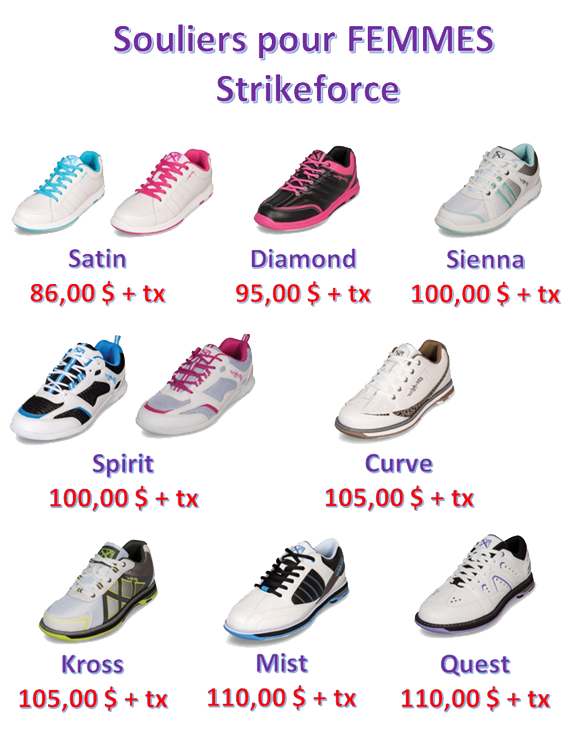 Souliers Femmes StrikeForce2