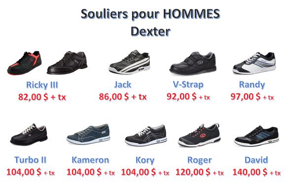 Souliers Hommes Dexter copie