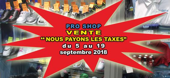 Pro Shop ST Une 2018