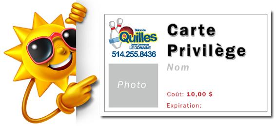 Carte Privilege Unev2