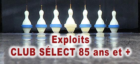 Club Select 85 Ans Une